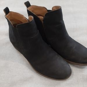 Franco Sarto Super Soft Leather Ankle Boots